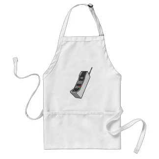 1980s Cellphone Adult Apron