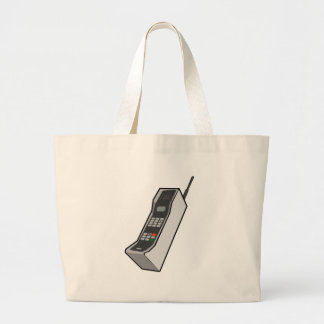 1980s Cellphone Canvas Bags