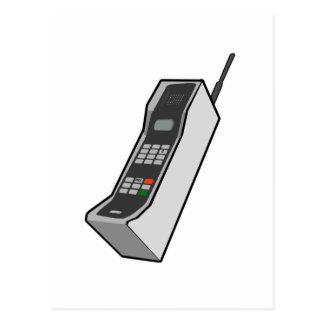 1980s Cellphone Postcard