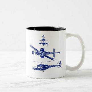 1980s Chopper Two-Tone Coffee Mug