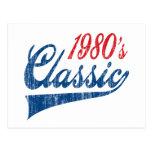 1980's Classic Birthday Postcards
