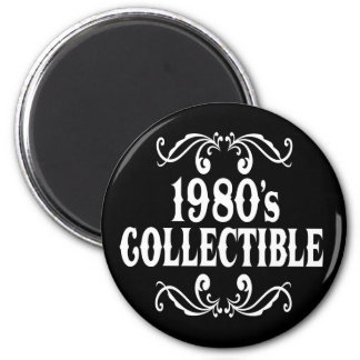 1980's Collectible 20th Borthday 25th Birthday 2 Inch Round Magnet
