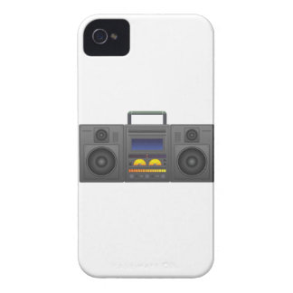 1980's Hip Hop Style Boombox iPhone 4 Cover