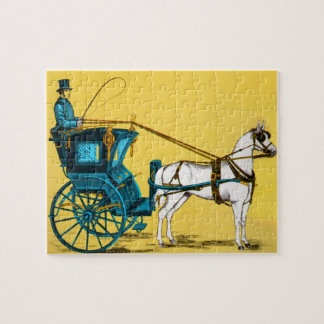 1980's Horse and Carriage Puzzles