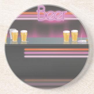 1980s Nightclub Drink Coaster