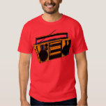 1980s Old School Retro Boombox Radio T-Shirt