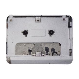 1980's Personal Cassette Player Rectangular Photo Magnet