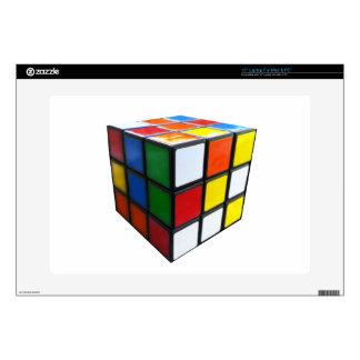 """1980's Puzzle Cube 15"""" Laptop Skins"""