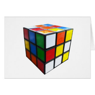 1980's Puzzle Cube Card