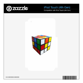 1980's Puzzle Cube Decals For iPod Touch 4G