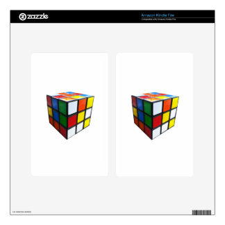 1980's Puzzle Cube Kindle Fire Skin