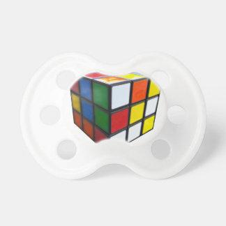 1980's Puzzle Cube Pacifier