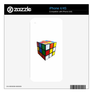 1980's Puzzle Cube Skins For The iPhone 4S