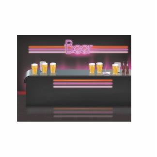 1980s Retro Bar Cutout