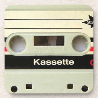 1980s Vintage geeky Retro cassette Drink Coasters