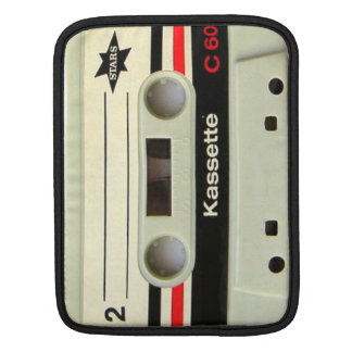 1980s Vintage geeky Retro cassette Sleeve For iPads