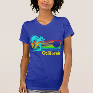 1980s Vintage Retro California Tee Shirts