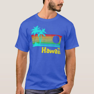 1980s Vintage Retro Hawaii T-Shirt