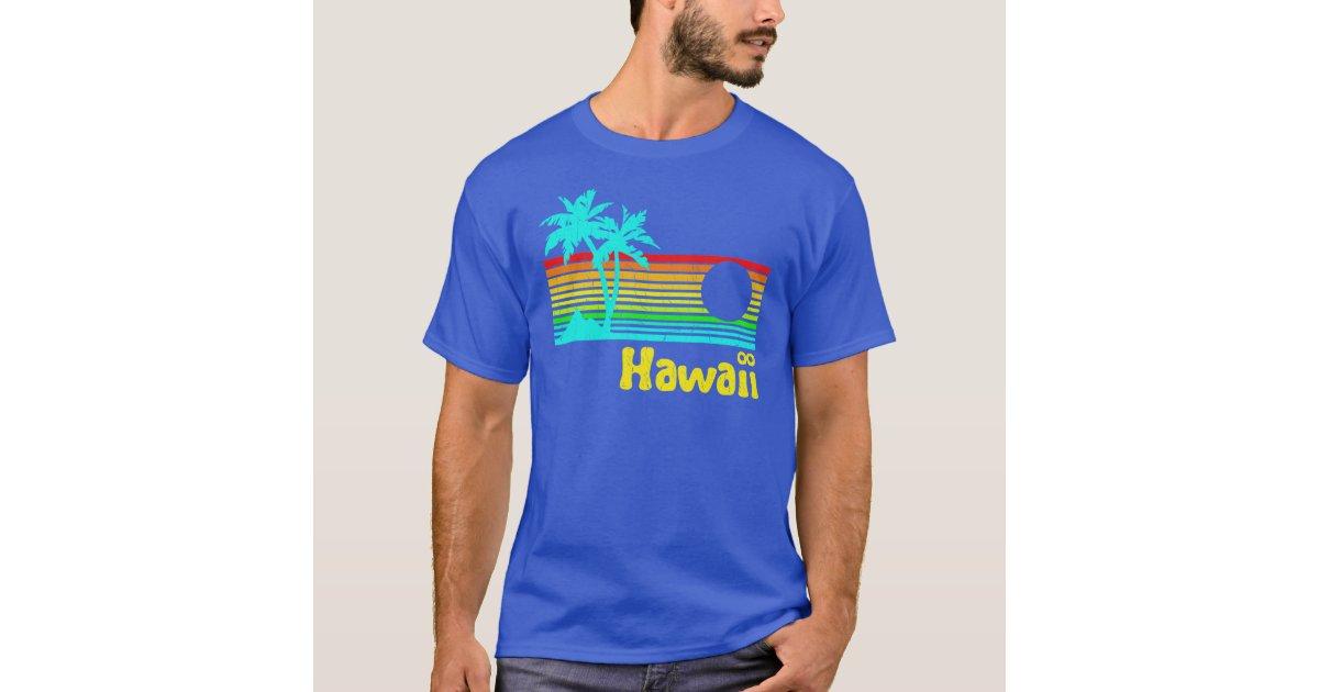 1980s vintage retro hawaii t shirt zazzle for Hawaii 5 0 t shirt