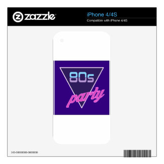 1980's Vintage Skin For The iPhone 4
