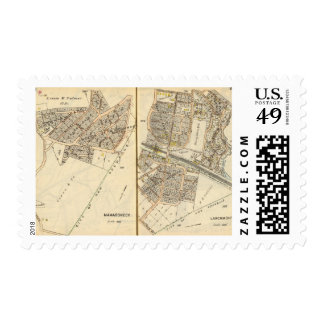 198199 Mamaroneck, Larchmont Postage Stamp
