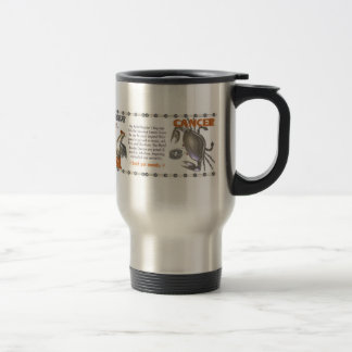 1981 1921 Chinese zodiac metal rooster born Cancer Travel Mug