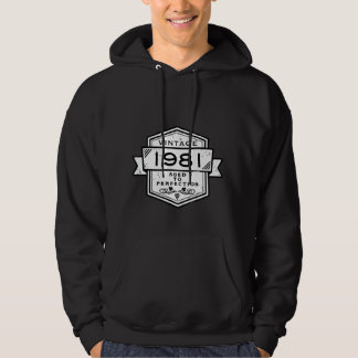 1981 Aged To Perfection Hoodie