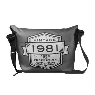 1981 Aged To Perfection Messenger Bags