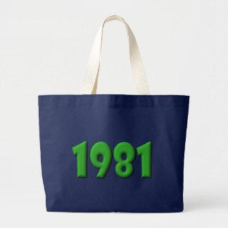 1981 TOTE BAGS