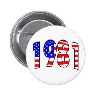 1981 BUTTON
