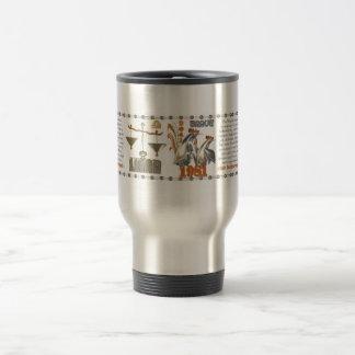 1981 Chinese zodiac metal rooster born Libra Travel Mug