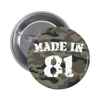 1981 hizo en 81 pin
