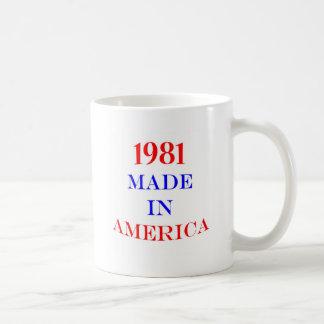 1981 hizo en América Taza