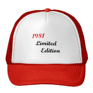 1981 Limited Edition Trucker Hat