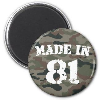 1981 Made In 81 Refrigerator Magnet