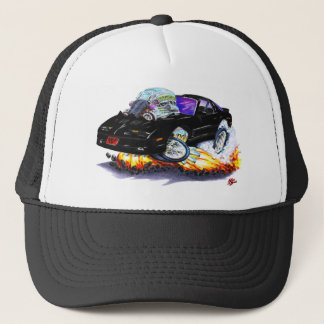 1982-92 Trans Am Black Car Trucker Hat
