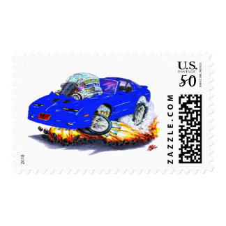 1982-92 Trans Am Blue Car Postage