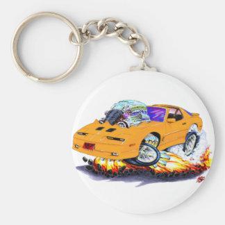 1982-92 Trans Am Orange Car Basic Round Button Keychain