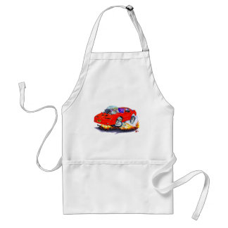 1982-92 Trans Am Red Car Adult Apron