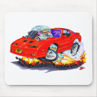 1982-92 Trans Am Red Car Mouse Pad
