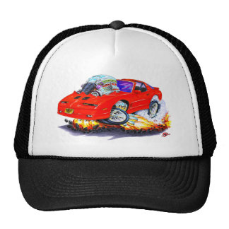 1982-92 Trans Am Red Car Trucker Hat