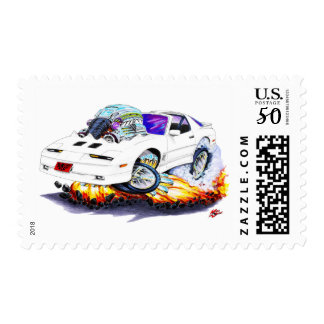 1982-92 Trans Am White Car Postage