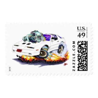 1982-92 Trans Am White Turbo GTA Stamp