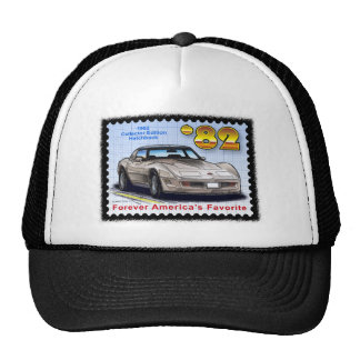 1982 Collector Edition Hatchback Corvette Trucker Hat