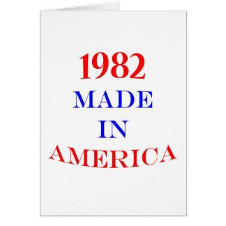 1982 hizo en América Tarjeton