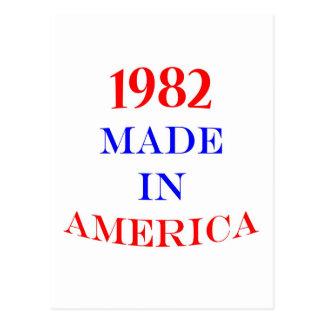 1982 hizo en América Tarjetas Postales
