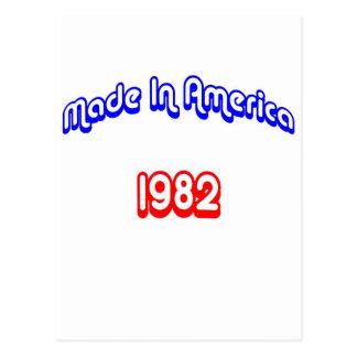 1982 hizo en América Postal