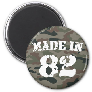 1982 Made In 82 2 Inch Round Magnet