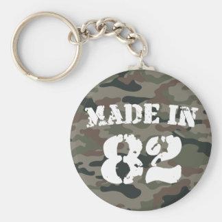 1982 Made In 82 Basic Round Button Keychain