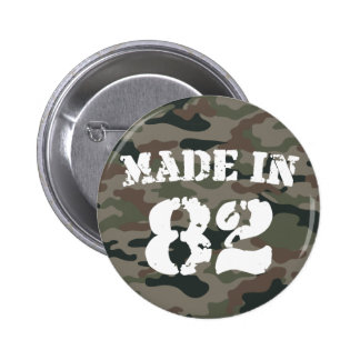 1982 Made In 82 Pinback Button